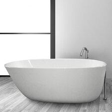 """Daniela 5830 SS 58"""" x 21"""" Bathtub"""