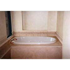 "Designer Aimee 72"" x 36"" Whirlpool Tub with Combo System"