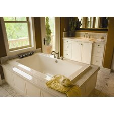 "Designer Angel 66"" x 42"" Whirlpool Tub with Combo System"