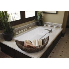 "Designer Eileen 86"" x 50"" Whirlpool Tub with Combo System"