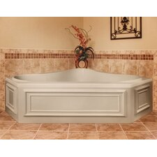 """Designer Erica 60"""" x 60"""" Whirlpool Tub with Combo System"""