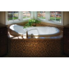 "Designer Kimberly 72"" x 40"" Whirlpool Tub with Combo System"