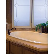 """Designer Lorraine 60"""" x 42"""" Whirlpool Tub with Combo System"""