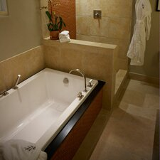 """Designer Marlie 72"""" x 36"""" Whirlpool Tub with Combo System"""