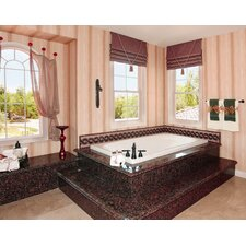 """Designer Melissa 66"""" x 36"""" Whirlpool Tub with Combo System"""
