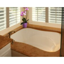 """Designer Monterey 60"""" x 42"""" Whirlpool Tub with Combo System"""