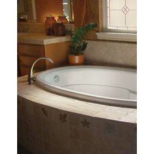 "Designer 72"" x 42"" Riley Bathtub with Combo System"