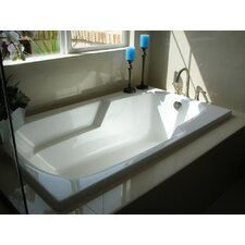"Designer 54"" x 30"" Solo Bathtub with Combo System"