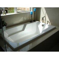 "Designer 66"" x 34"" Solo Bathtub with Combo System"