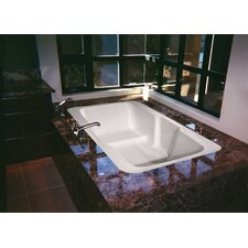"<strong>Hydro Systems</strong> Designer 73"" x 48"" Victoria Bathtub with Combo System"