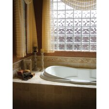 "Designer 72"" x 42"" Yvette Bathtub with Combo System"