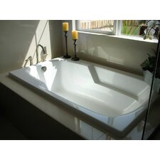 "Builder 60"" x 32"" Whirlpool Tub"