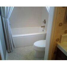 "Builder 66"" x 32"" Regan Bathtub with Whirlpool System"