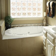 "Designer Alyssa 66"" x 42"" Air Tub with Thermal System"