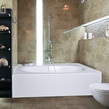 "<strong>Hydro Systems</strong> Builder Kona 60"" x 42"" Bathtub"