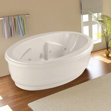 "Designer Nina 72"" x 44"" Air Tub with Thermal System"