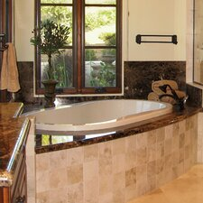 "Designer 66"" x 44"" Savannah Bathtub with Combo System"