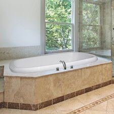 """Designer 60"""" x 38"""" Sylvia Air Tub with Thermal System"""