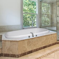 "Designer 66"" x 42"" Sylvia Bathtub with Combo System"