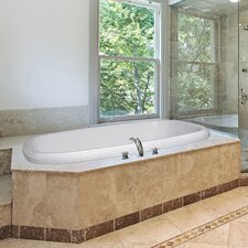 "Designer 66"" x 42"" Sylvia Bathtub with Whirlpool System"