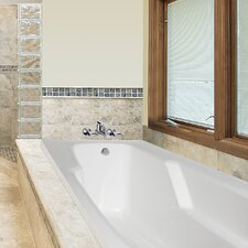 """Designer Entre 60"""" x 32"""" Whirlpool Tub with Combo System"""