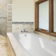 """Designer Entre 66"""" x 32"""" Air Tub with Thermal System"""