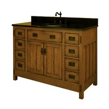 "American Craftsman 48"" Vanity Base Only"