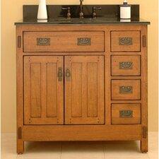 """American Craftsman 36"""" Vanity Set"""
