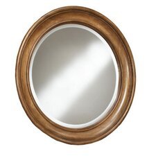 Casual Elements Round Framed Mirror