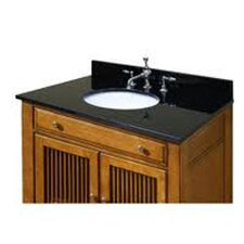 <strong>Sagehill Designs</strong> Granite Vanity Top with Pre Mounted Carminic Bowl