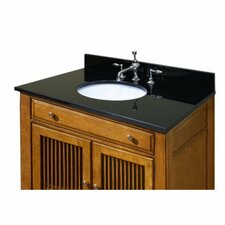 Marble Vanity Top with Pre Mounted Carminic Bowl