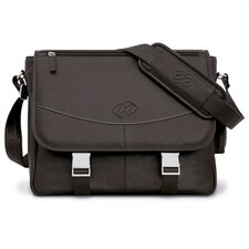 <strong>MacCase</strong> Premium Leather Messenger Bag