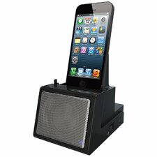 Portable Universal Cradle with Speaker System (Bluetooth) and Rechargeable Battery
