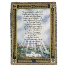 <strong>Manual Woodworkers & Weavers</strong> 23rd Psalm Tapestry Cotton Throw