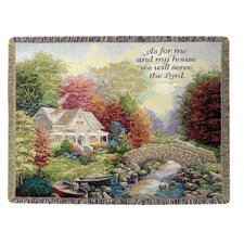 Autumn Tranquility Tapestry Cotton Throw