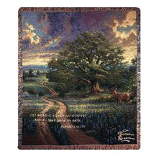 <strong>Manual Woodworkers & Weavers</strong> Country Living Verse Tapestry Cotton Throw