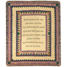 <strong>Manual Woodworkers & Weavers</strong> Grandmother Tapestry Cotton Throw