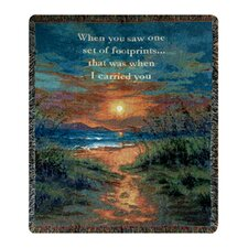 <strong>Manual Woodworkers & Weavers</strong> I Carried You Tapestry Cotton Throw