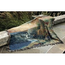 <strong>Manual Woodworkers & Weavers</strong> The Light of Peace Tapestry Cotton Throw