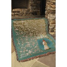 Willow Tree Angel Tapestry Cotton Throw