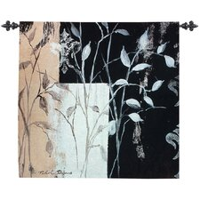 African Leaf Abstract Tapestry