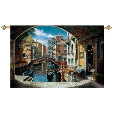 Archway to Venice Tapestry