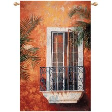 Moroccan Balcony Tapestry