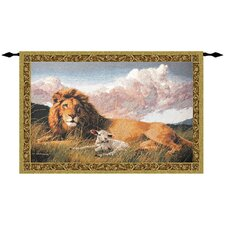 <strong>Manual Woodworkers & Weavers</strong> Lion and Lamb Tapestry