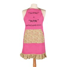 <strong>Manual Woodworkers & Weavers</strong> Wow is Mom Spelled Apron