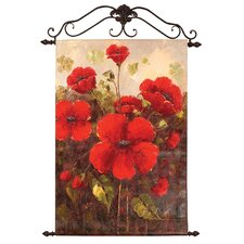 Glorious Poppies Canvas Art