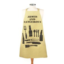 Armed and Dangerous Men's Apron