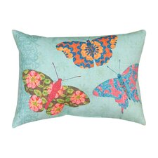 Butterfly Kaleidoscope Pillow