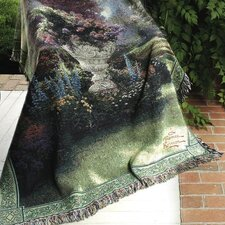 The Garden of Hope Tapestry Cotton Throw