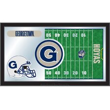NCAA Football Mirror Framed Graphic Art